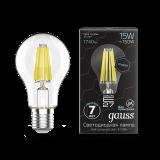 Лампа Gauss LED Filament Graphene A60 E27 15W 1740lm 4100К