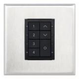 Панель для диммирования светильников 8-кнопок белая
