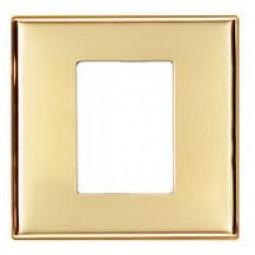 Рамка для наборной кнопочной панели серебро, сталь