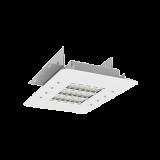 Светодиодный светильник OLYMP S10 с углом рассеивания 30x110˚ 400x340x12mm 55W 5000K  встраиваемый