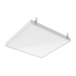 Светодиодный светильник GR070 588*588*50мм 36W 6500K аварийный встраиваемый