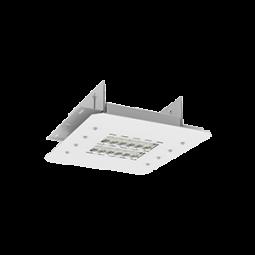Светодиодный светильник OLYMP S10 с углом рассеивания 120° 400x340x120mm 115W 5000K  встраиваемый