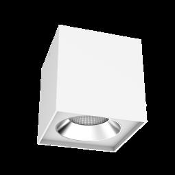 Светодиодный светильник DL-02 СUBE 100х100x110mm 12W 4000К  накладной